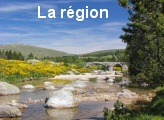 The region Cevennes National Park